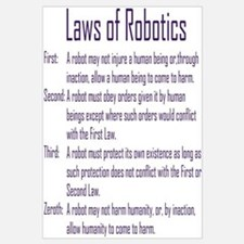 Asimov's Robot Series Laws of Robotics