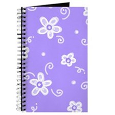 Flowers in Lavender Journal
