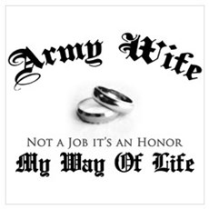 Army Wife: It's an Honor Poster