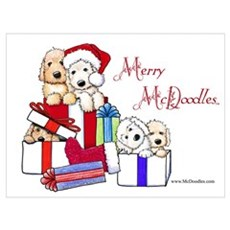 Merry McDoodles Poster