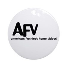 America's Funniest Home Videos Ornament (Round)