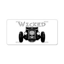 Wicked- Aluminum License Plate