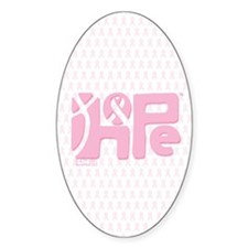 Think Hope (LtPink/White) Decal