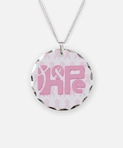 Think Hope (LtPink/White) Necklace