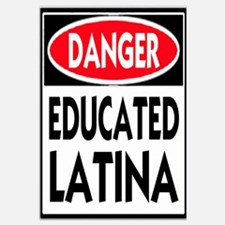 Danger -- Educated LATINA T-Shirt