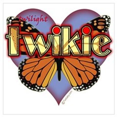 Twilight Twikie Magic Butterfly Poster