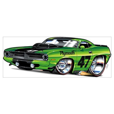 70 Plymouth Cuda Poster