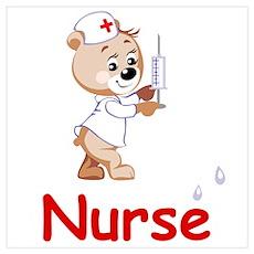 Nurse Bear Poster