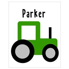 Parker - Green Tractor Poster