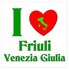 Friuli Venezia Giulia Italy Poster