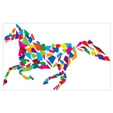 Galloping Horse Canvas Art