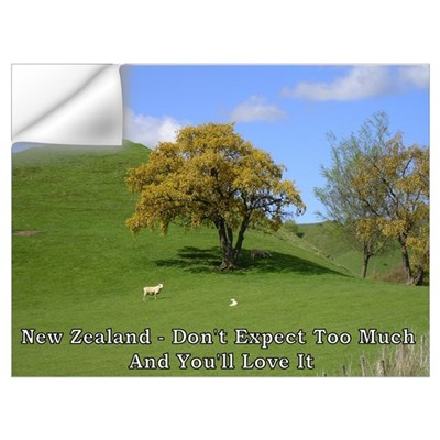 """Don't Expect"" (sheep) Wall Decal"