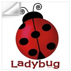 Cute Ladybug Wall Decal