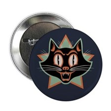 "Moon Cat 2.25"" Button"