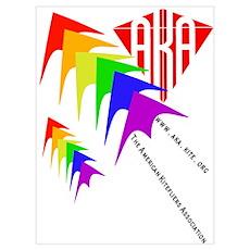 AKA Sport Kite Stacks Poster