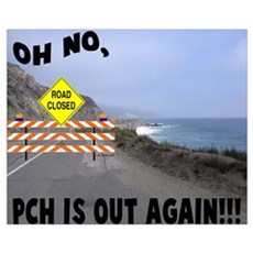 PCH IS OUT AGAIN Poster