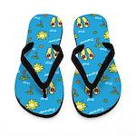 Summer and Sun Flip Flops