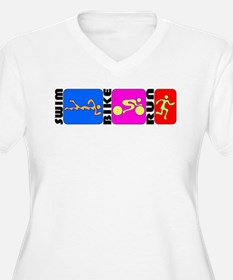 TRI Triathlon BANNER T-Shirt