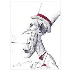 Martini Man Poster