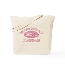 Property of Zariah Tote Bag