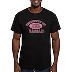 Property of Zariah Men's Fitted T-Shirt (dark)