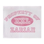 Property of Zariah Throw Blanket