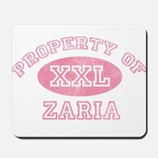 Property of Zaria Mousepad
