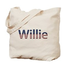 Willie Stars and Stripes Tote Bag