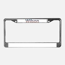 Wilson Stars and Stripes License Plate Frame