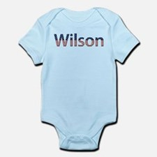 Wilson Stars and Stripes Infant Bodysuit