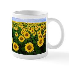 Sunflowers in field Mug
