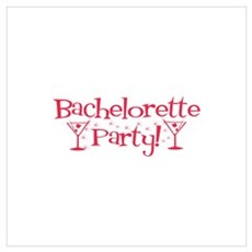 Bachelorette Party - Red Mart Poster