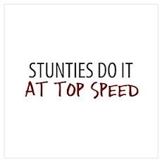 Top Speed Stunties Poster