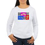 TRI Triathlon COLORS Women's Long Sleeve T-Shirt
