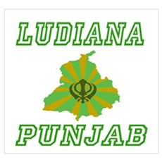 Ludiana, Punjab Poster