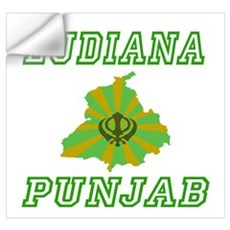 Ludiana, Punjab Wall Decal
