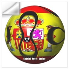 Spain Soccer Wall Decal