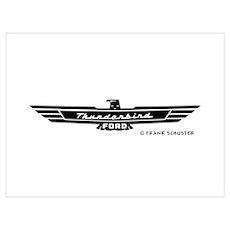 Thunderbird Emblem Poster