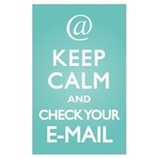 Keep Calm E-Mail Poster