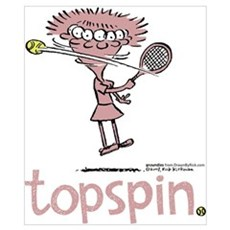 Groundies - Topspin Poster