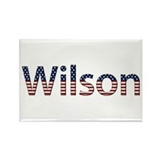 Wilson Stars and Stripes Rectangle Magnet