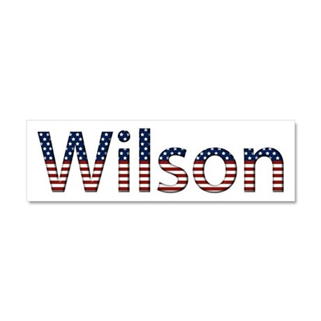 Wilson Stars and Stripes 10x3 Car Magnet