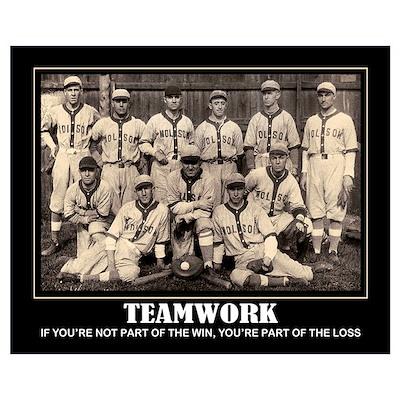 Teamwork.. Poster