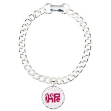 Think Hope (DkPink/White) Bracelet