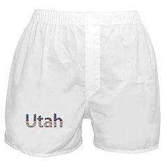 Utah Stars and Stripes Boxer Shorts