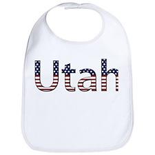 Utah Stars and Stripes Bib