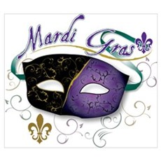Mardi Gras 2 Canvas Art