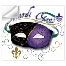 Mardi Gras 2 Wall Decal