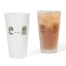 Dead Pacman Drinking Glass