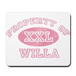 Property of Willa Mousepad